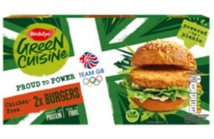 Birds Eye 2 Green Cuisine Chicken-Free Burgers 200g