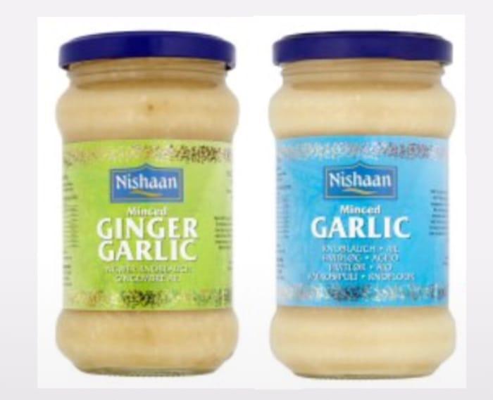 Nishaan Garlic Paste 283G/Nishaan Ginger Garlic Paste 283G Each 90p