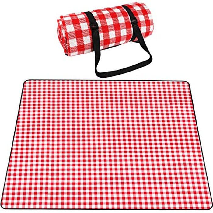SKYSPER Picnic Blanket Large Outdoor Carpet Mat Waterproof - Only £4.99!