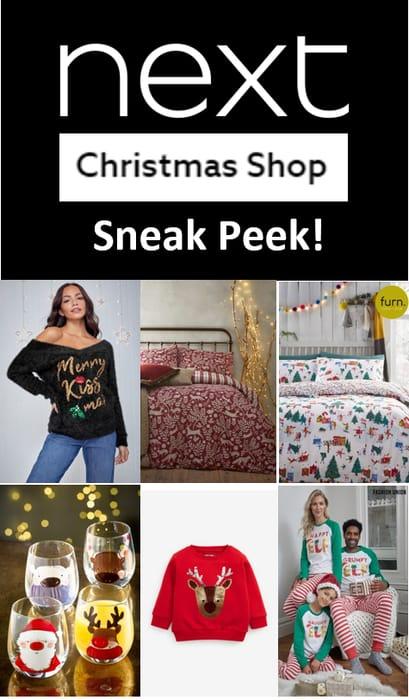 NEXT - Christmas Shop - GET A SNEAK PEEK!