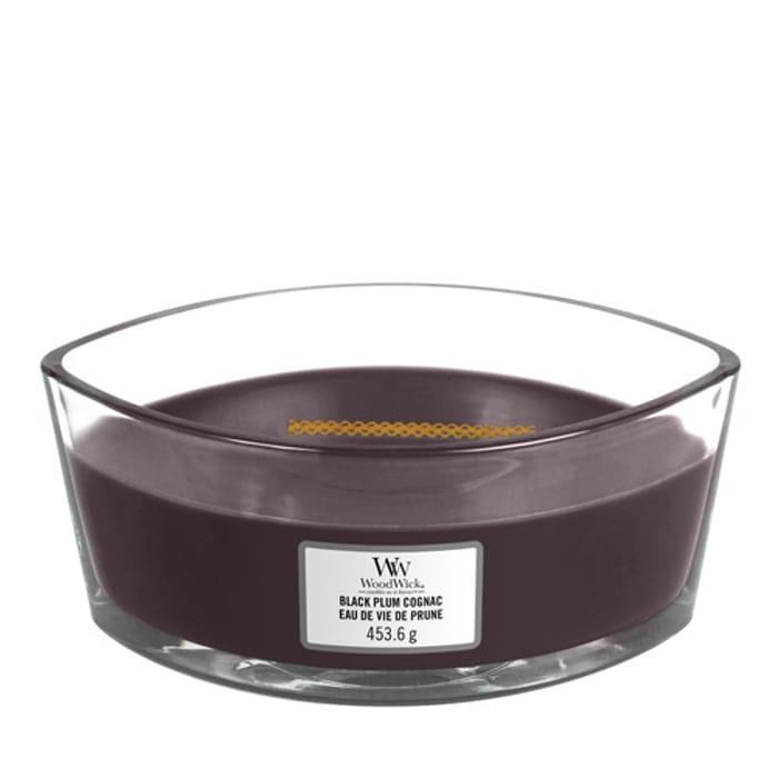 Woodwick Black Plum Cognac
