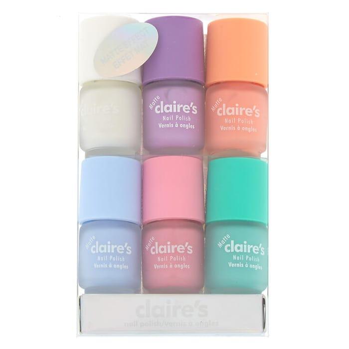 Mini Matte Pastel Nail Polish - 6 Pack