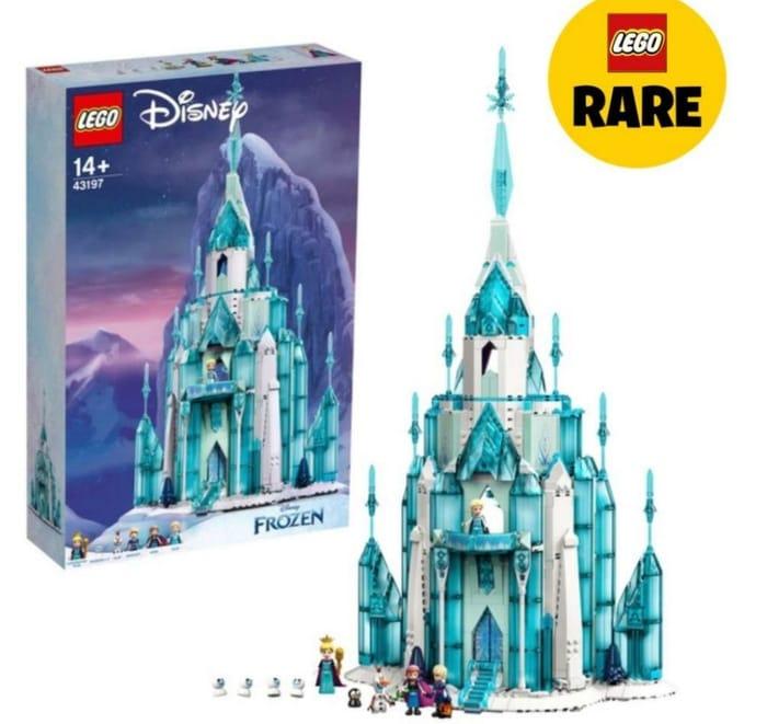 Best Price! LEGO 43197 Disney Princess the Ice Castle Frozen Building Toy