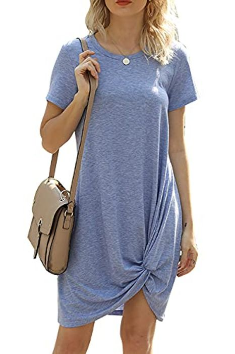 50% off Womans Oversized T Shirt Dress
