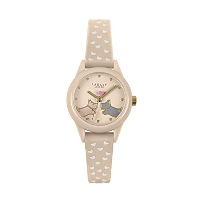 Radley Women's Analog Quartz Watch with Leather Strap