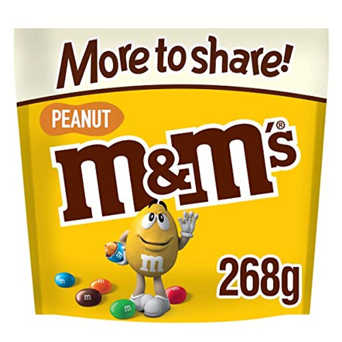 M&M's Peanut Chocolate More to Share Pouch, 268g