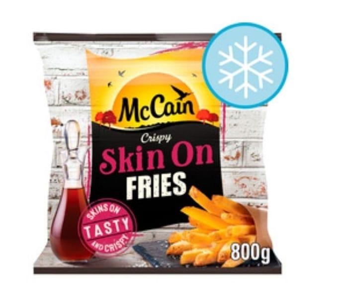 Mccain Skin on Fries 800G