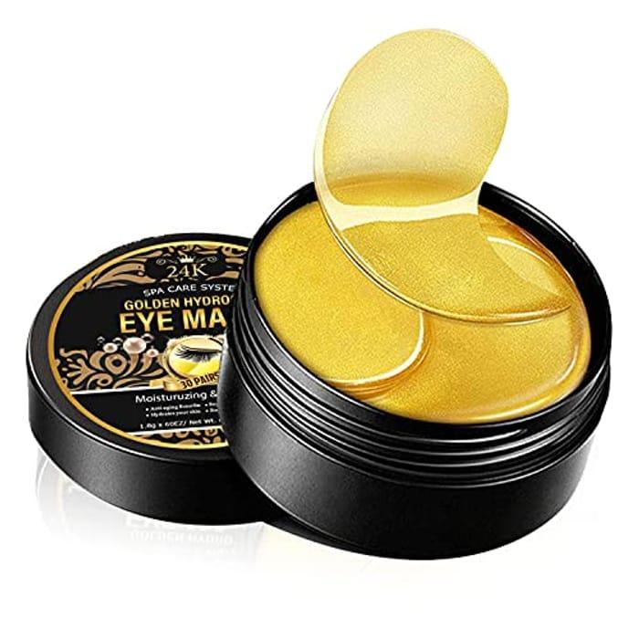 24K Gold under Eye Patches, under Eye Mask 60pc