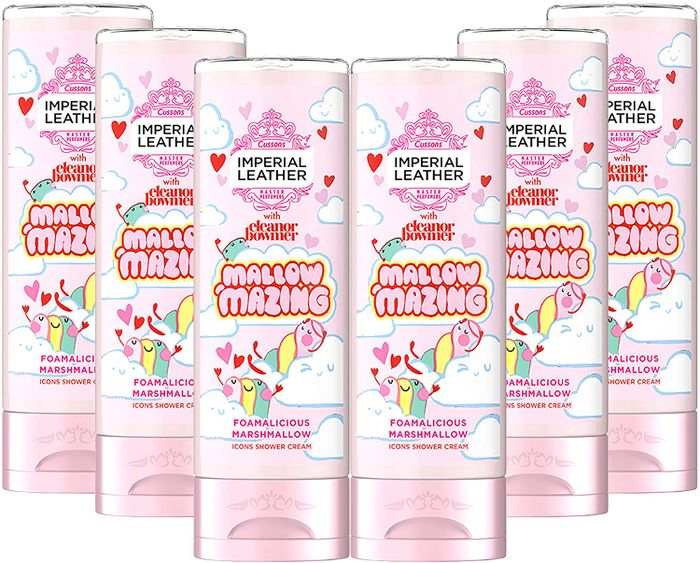 Imperial Leather Shower Gel Limited Edition Mallowmazing - 6 Pack X 250ml