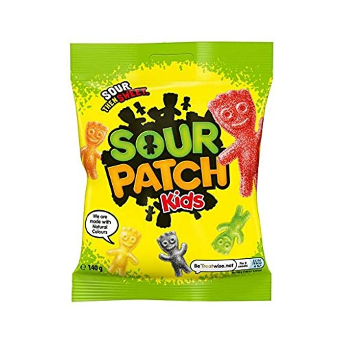 Sour Patch Kids Sweets Bag , 140 G
