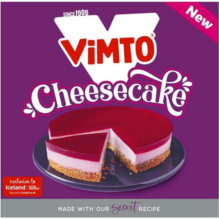 Vimto Cheesecake 400g