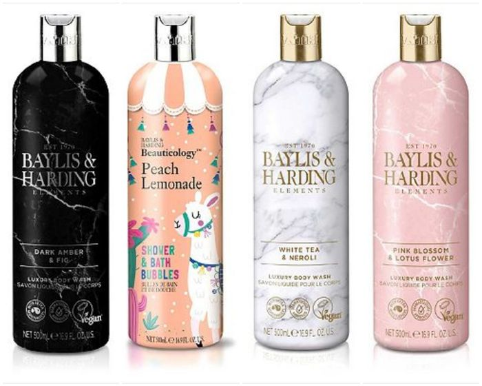Only £2 on Selected Baylis and Harding 500ml Bodywash, Shower & Bath Bubbles