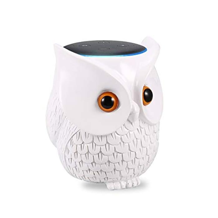 Owl 3rd Gen Echo Dot Holder