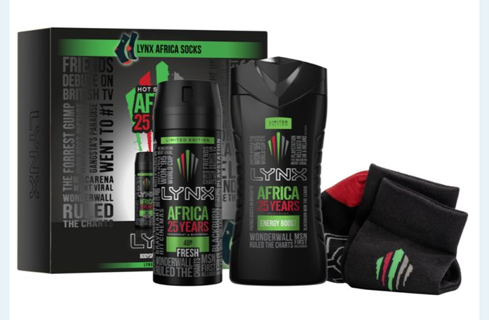 Africa 25 Years Duo & Socks Gift Set Only £3.49