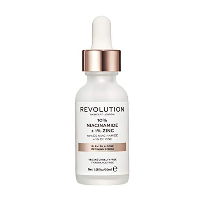 Revolution Skincare 10% Niacinamide + Zinc Blemish & Pore Refining Serum (30ml)