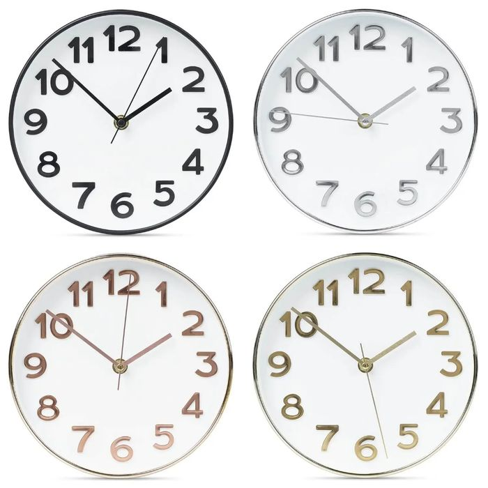 Wall Clock Down From £4.90 to £2.43