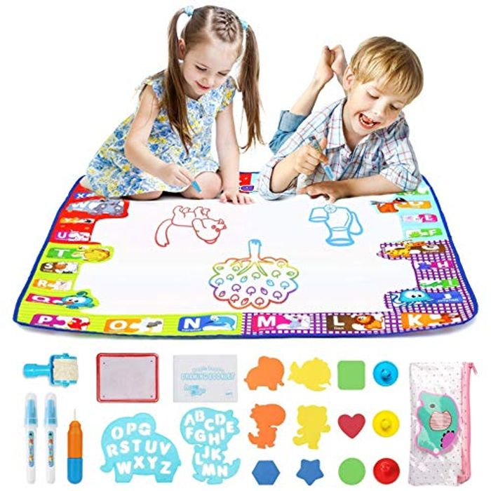 Fansteck Large Water Doodle Mat Toy for Kids (78 X 78cm)