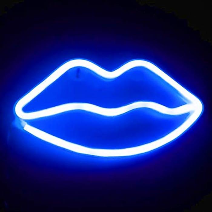XIYUNTE Lip Neon Sign - USB/Battery Powered
