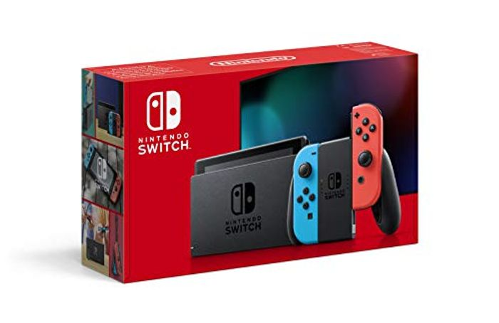 Nintendo Switch (Neon Red/Neon Blue) - Only £259.99!