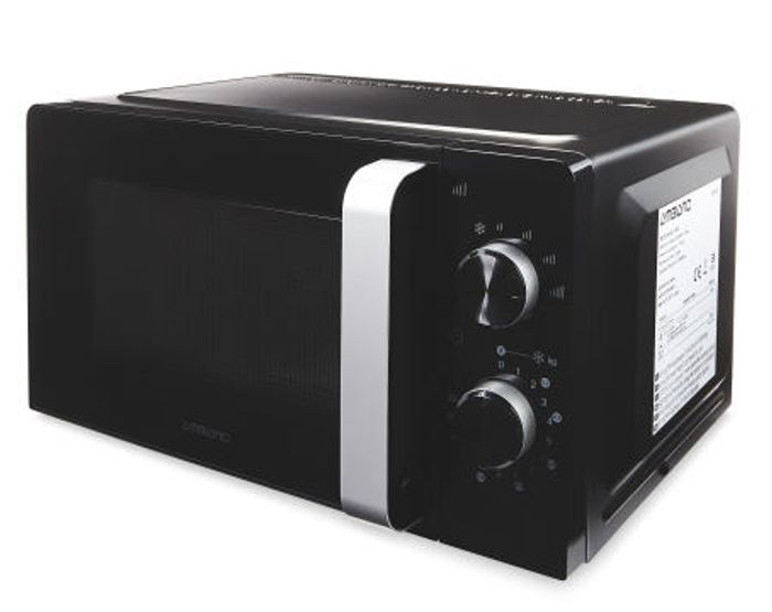 Pre-order - Ambiano Black Microwave Oven - Only £34.99!