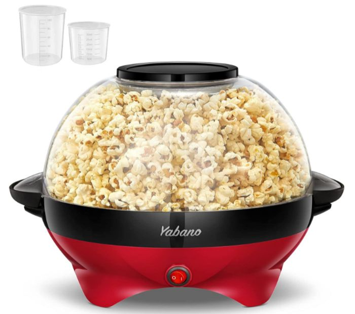 Yabano Popcorn Maker at Amazon
