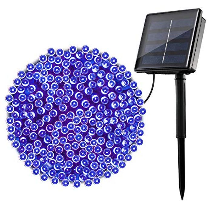 22M/72ft Solar Lights with 8 Modes