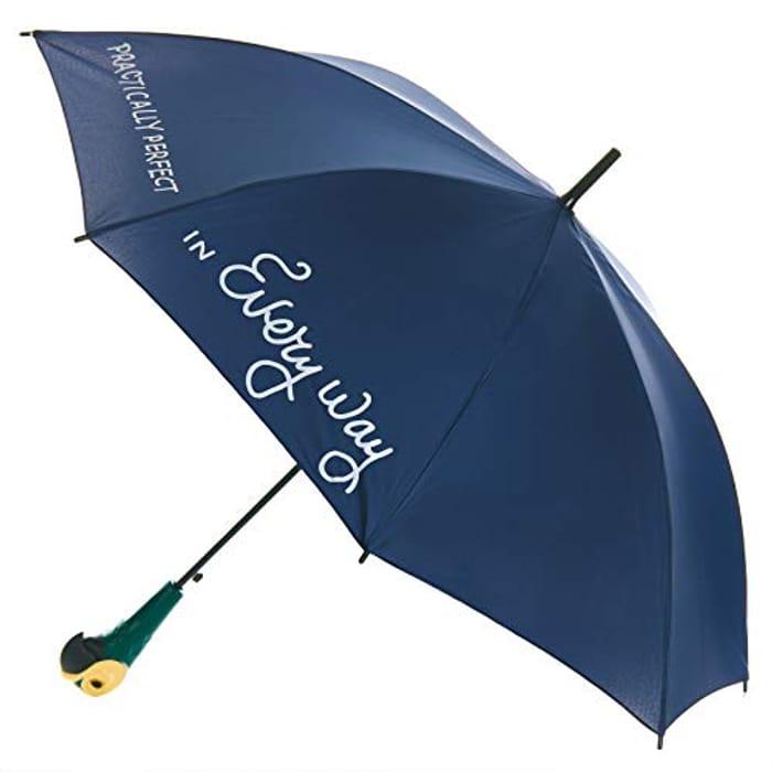 Paladone Mary Poppins Umbrella - Official Disney Merchandise