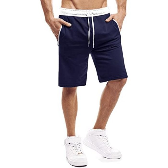 Men's Casual Summer Shorts with Pockets