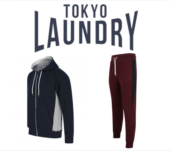 £25 Bundle Deal at Tokyo Laundry - 1 Hoodie or Joggers + 3 Pack T-Shirts
