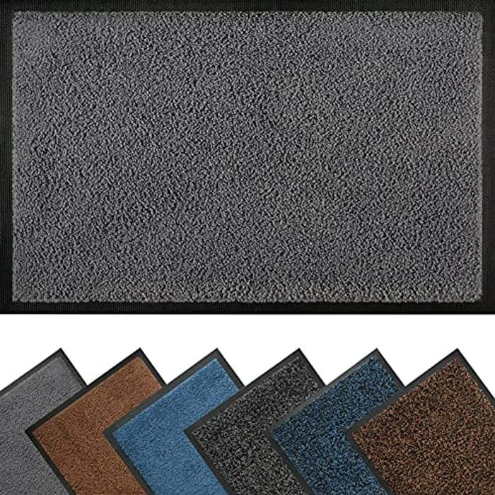 Door Mat Indoor 40 X 60 Cm, Durable Barrier Mat - Only £7.49!