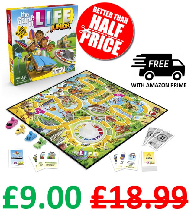 The Game of Life JUNIOR - Board Game - Age 5+