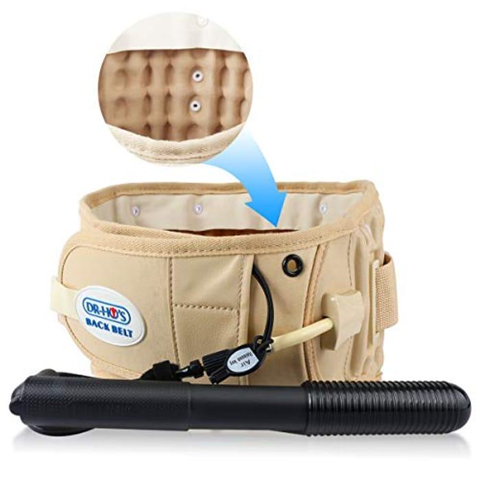 Decompression Lumbar Waist Support Back Belt for Women & Men - Only £34.99!