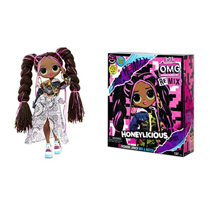 LOL Surprise OMG Remix - Fashion Doll, Clothing and Accessories - Only £19.99!