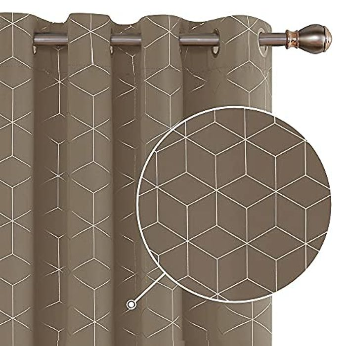 DEAL STACK - Deconovo Thermal Insulated Blackout Curtains + Coupon