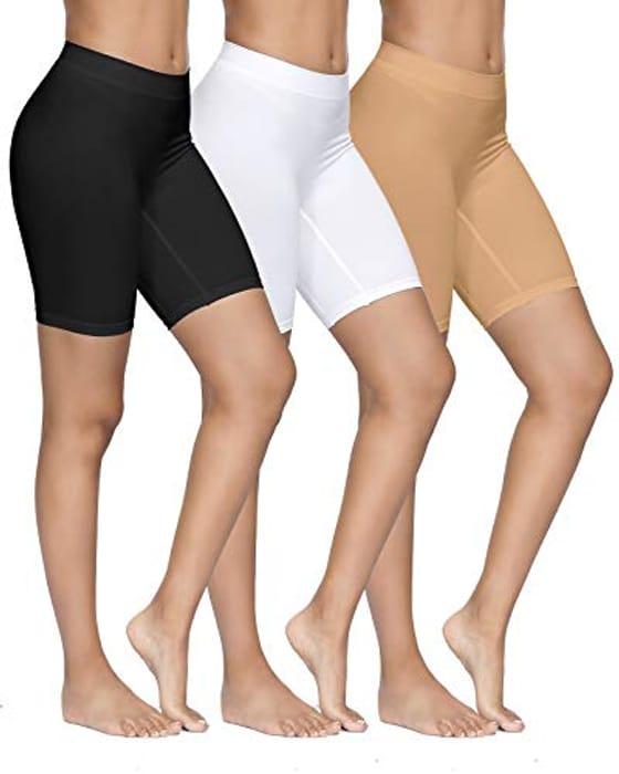 Half Price! YADIFEN 3 PACK Womens Safety Shorts