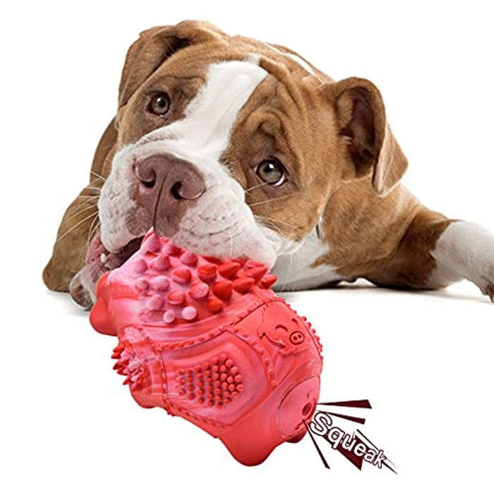 Yocuby Indestructible Dog Chew Toy with £10 Off Coupon