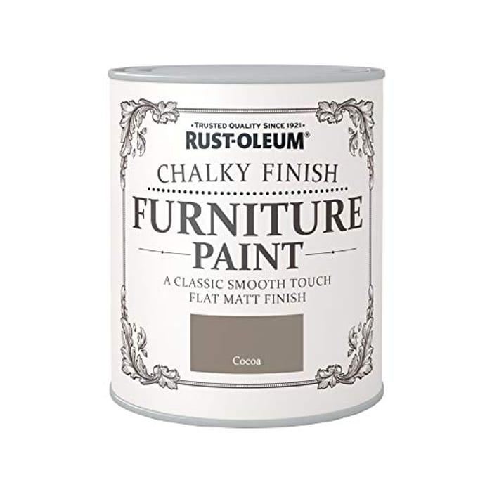 Rust-Oleum a Classic, Smooth Touch Flat Matt Paint - Only £5.49!
