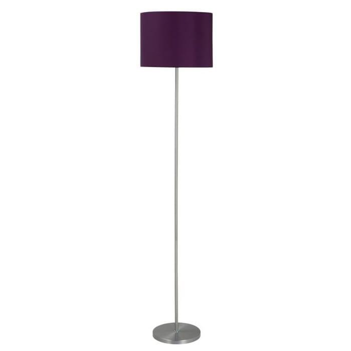 Argos Home Satin Stick Floor Lamp - Plum
