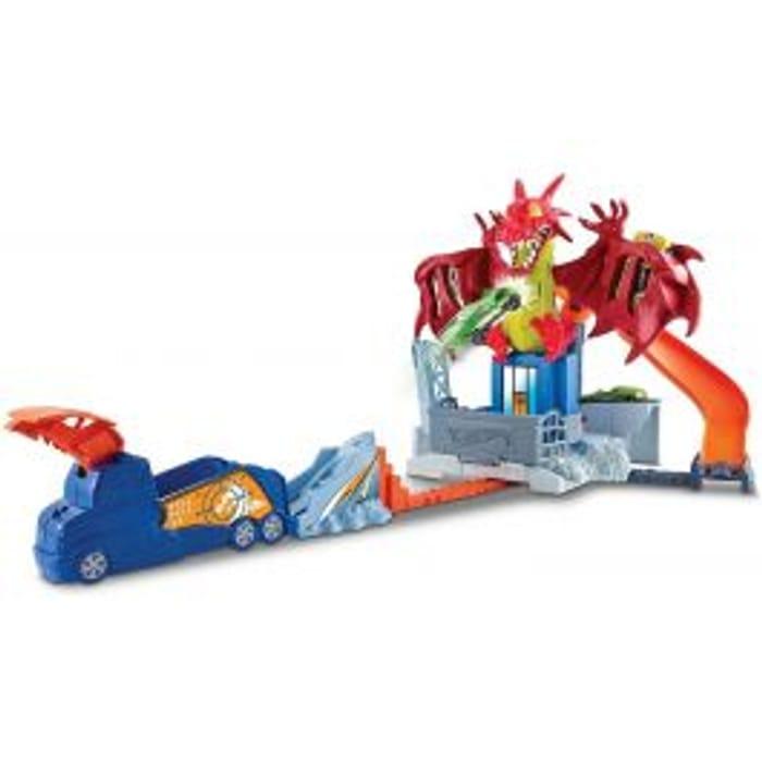 Hot Wheels Dragon Blast Playset Age: 4 Years+