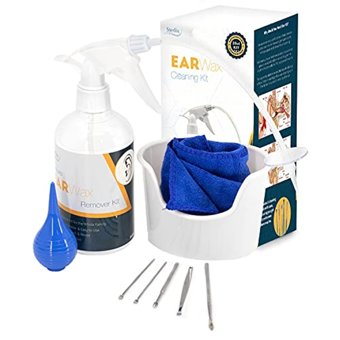 Ear Wax Remover Kit 20-in-1 Ear Cleaner Earwax Removal Kit for Baby