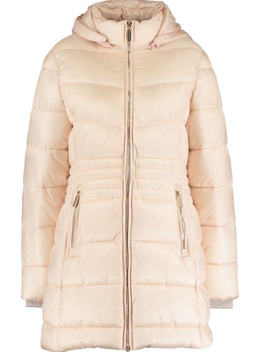 RINASCIMENTO Peachy Cream Puffer Coat