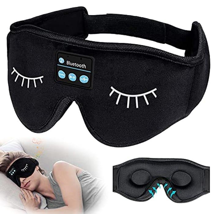 Headphones Bluetooth Sleep Mask