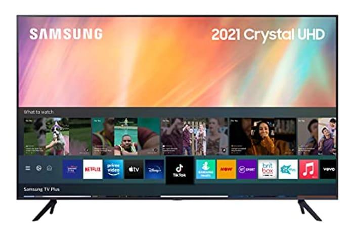Samsung 2021 75 Inch AU7110 Crystal UHD 4K HDR Smart TV