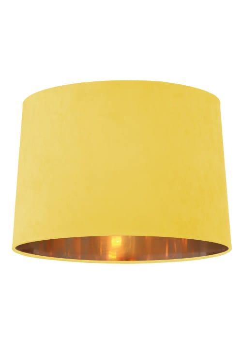 Ada Velvet Drum Easy Fit Lamp Shade