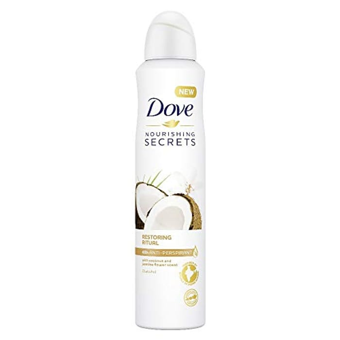 Dove Coconut & Jasmine Flower Anti-Perspirant 250ml