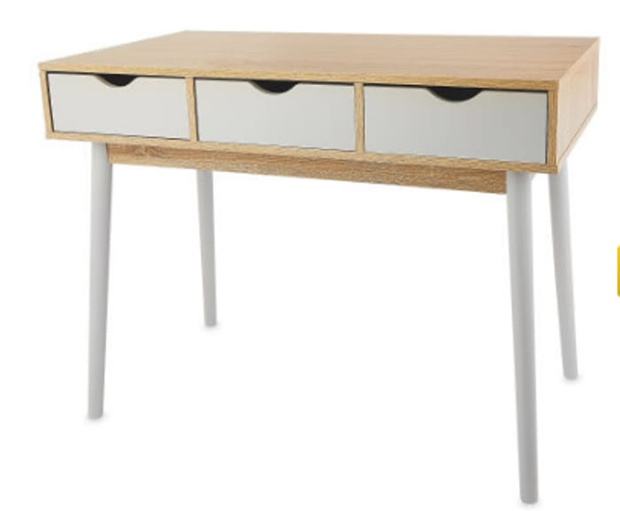 Contemporary Wooden Console Table - Only £11.49!