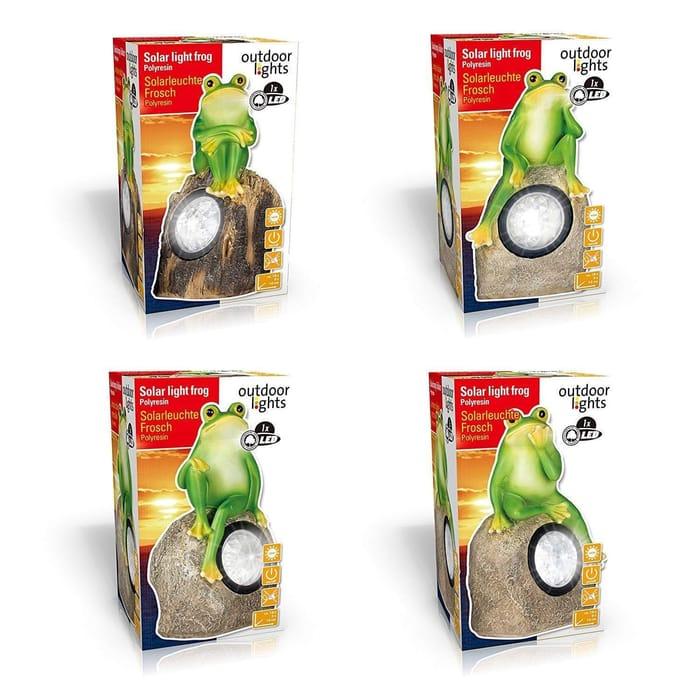 LED Solar Frog Light Only 1x Frog