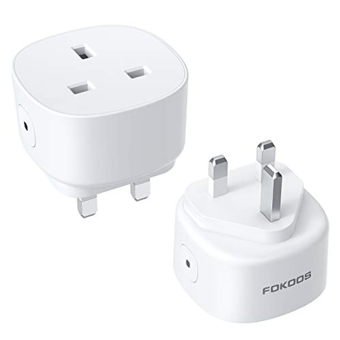 Fokoos 13A Wi-Fi Smart Plug Outlet with £14 Off Coupon