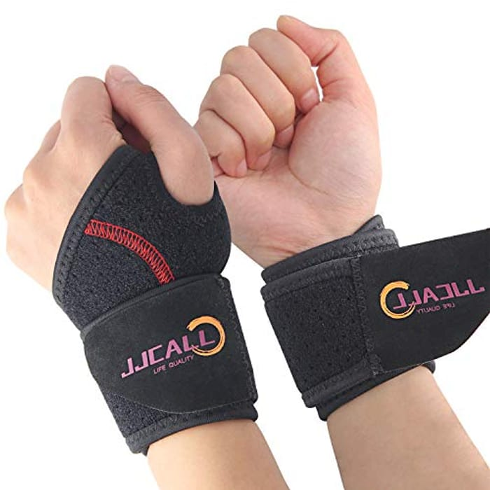 DEAL STACK - Breathable Comfortable Adjustable Wrist Brace, 2PACK + 30% Coupon
