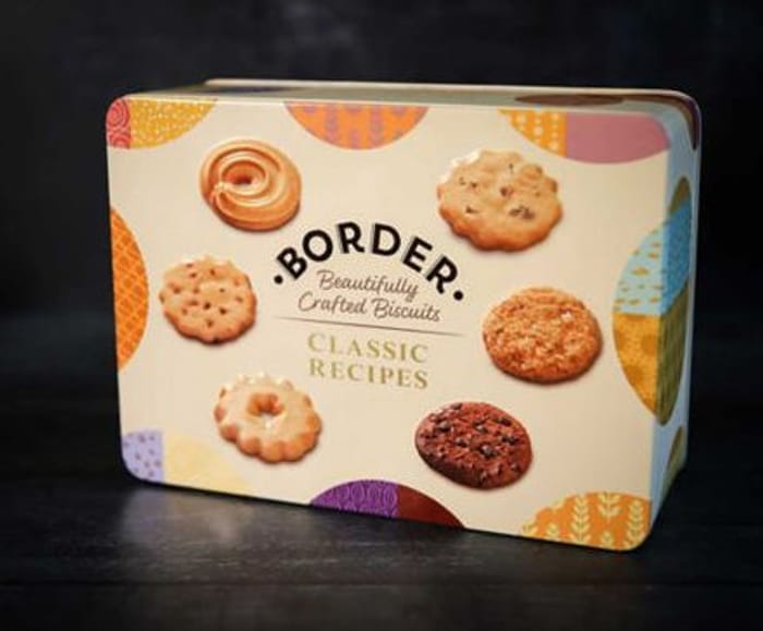 3 x Border Biscuits Luxury 500g Tins - £20 / £17.50 With Code